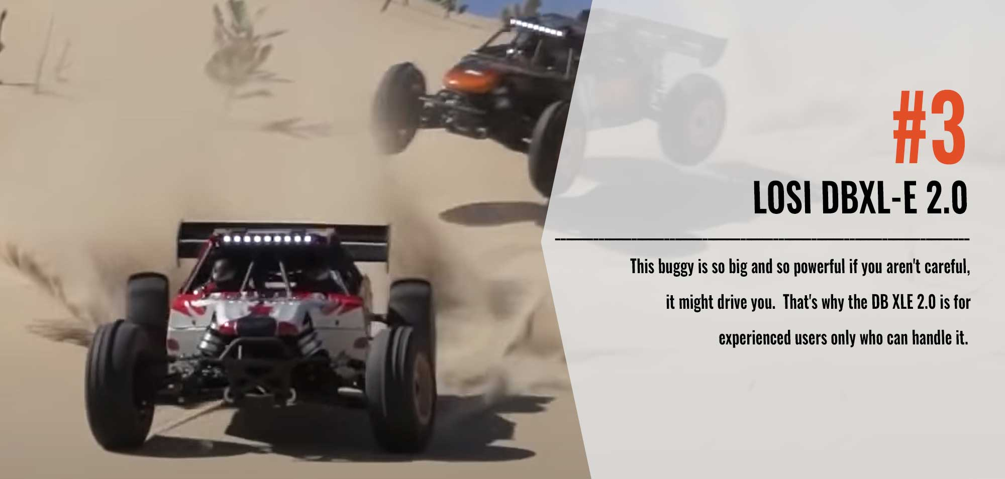 Number Three in our Top 10 List - Losi DBXL-E 2.0