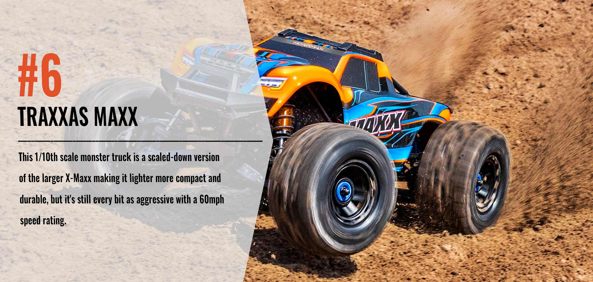 Number Six in our Top 10 List - Traxxas Maxx
