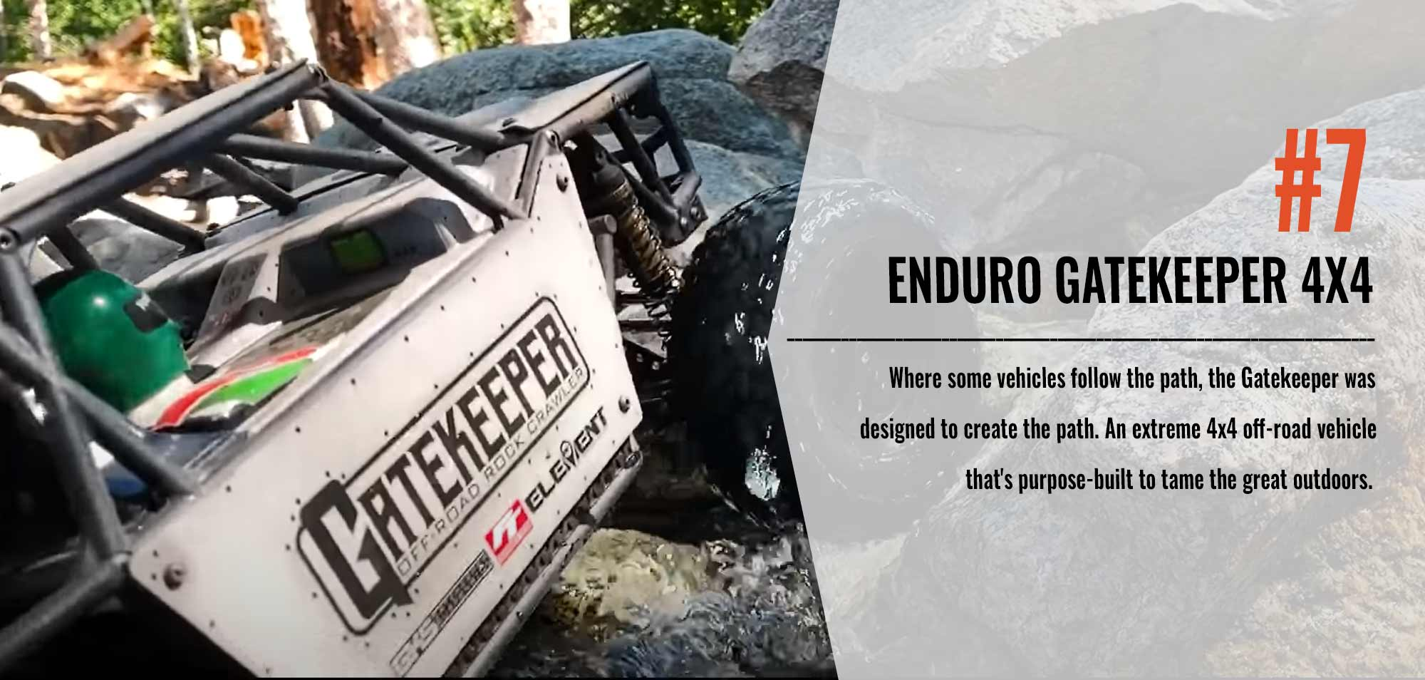 Number Seven in our Top 10 List - Enduro Gatekeeper