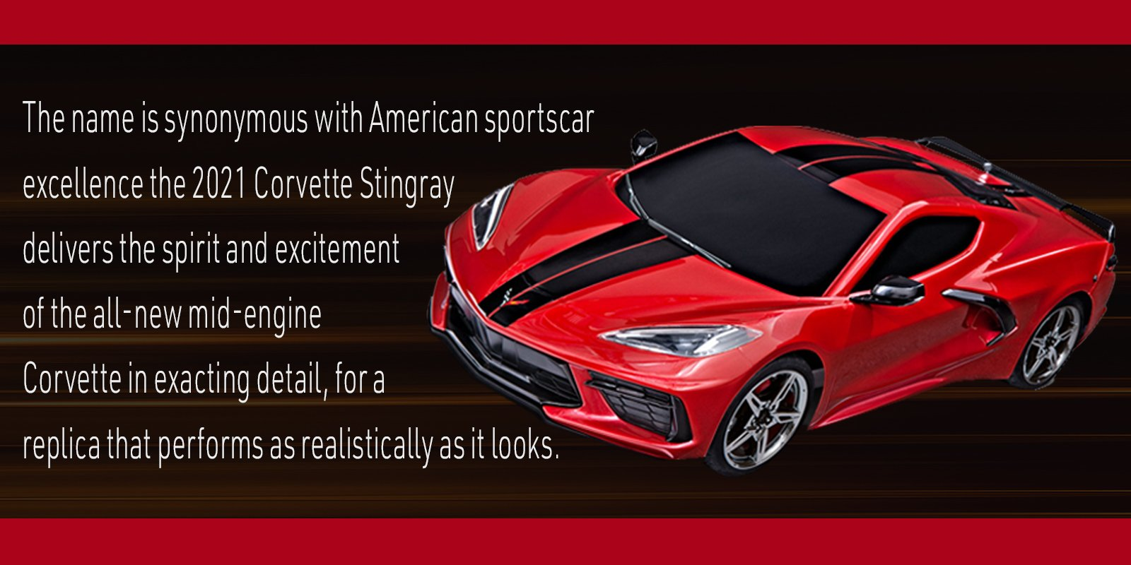 Traxxas 2021 Corvette Stingray