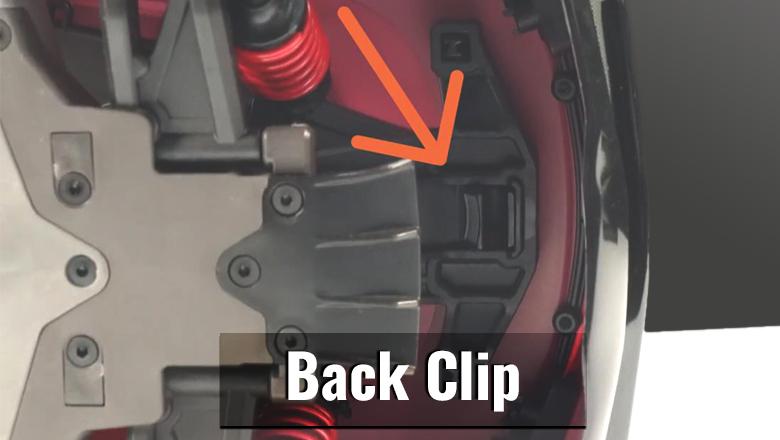 Hidden Back Clip
