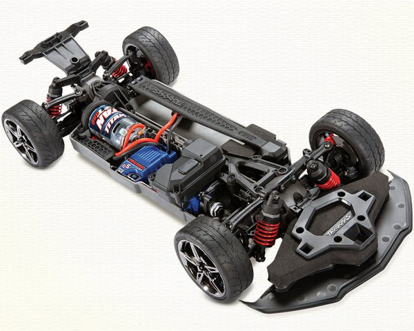 Traxxas Corvette 4-Tec 3.0 Chassis