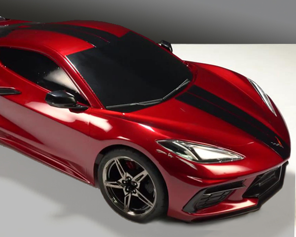 Traxxas Corvette Scale Detail