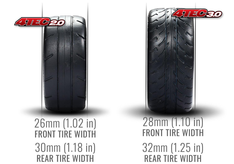 Traxxas Corvette Tires