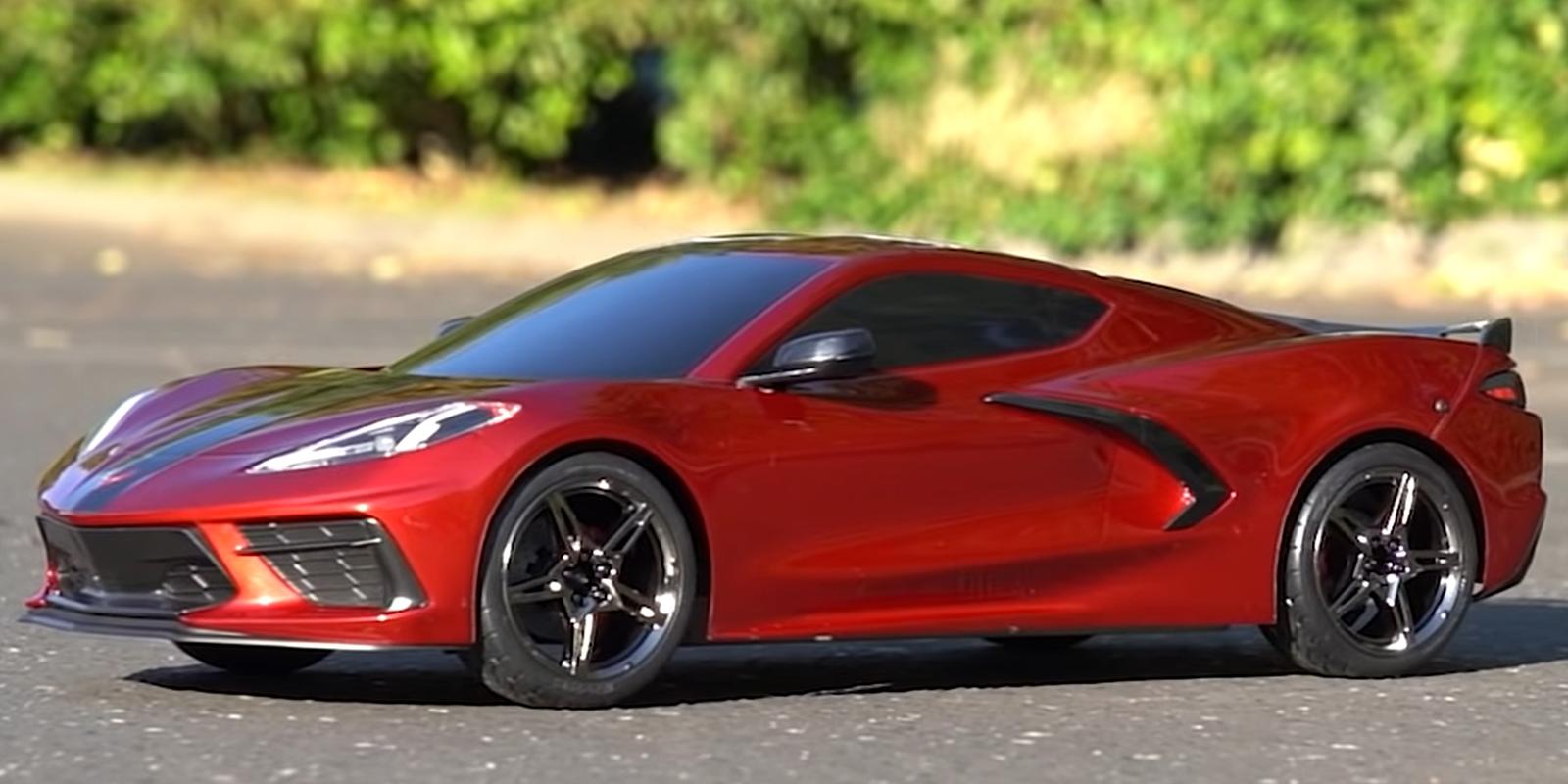 Traxxas Corvette Realistic Finishes