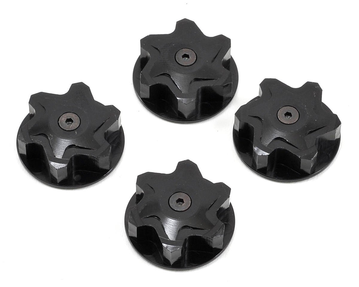110% Racing Magnet 17mm Wheel Nut (4) (Team Associated RC8)