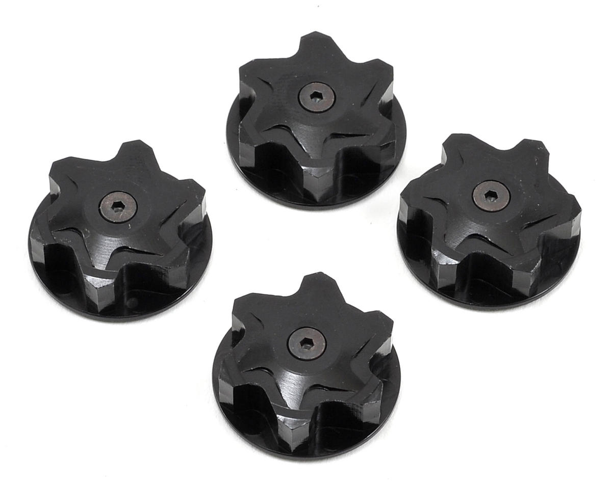 110% Racing Magnet 17mm Wheel Nut (4) (Mugen Seiki MBX6T)