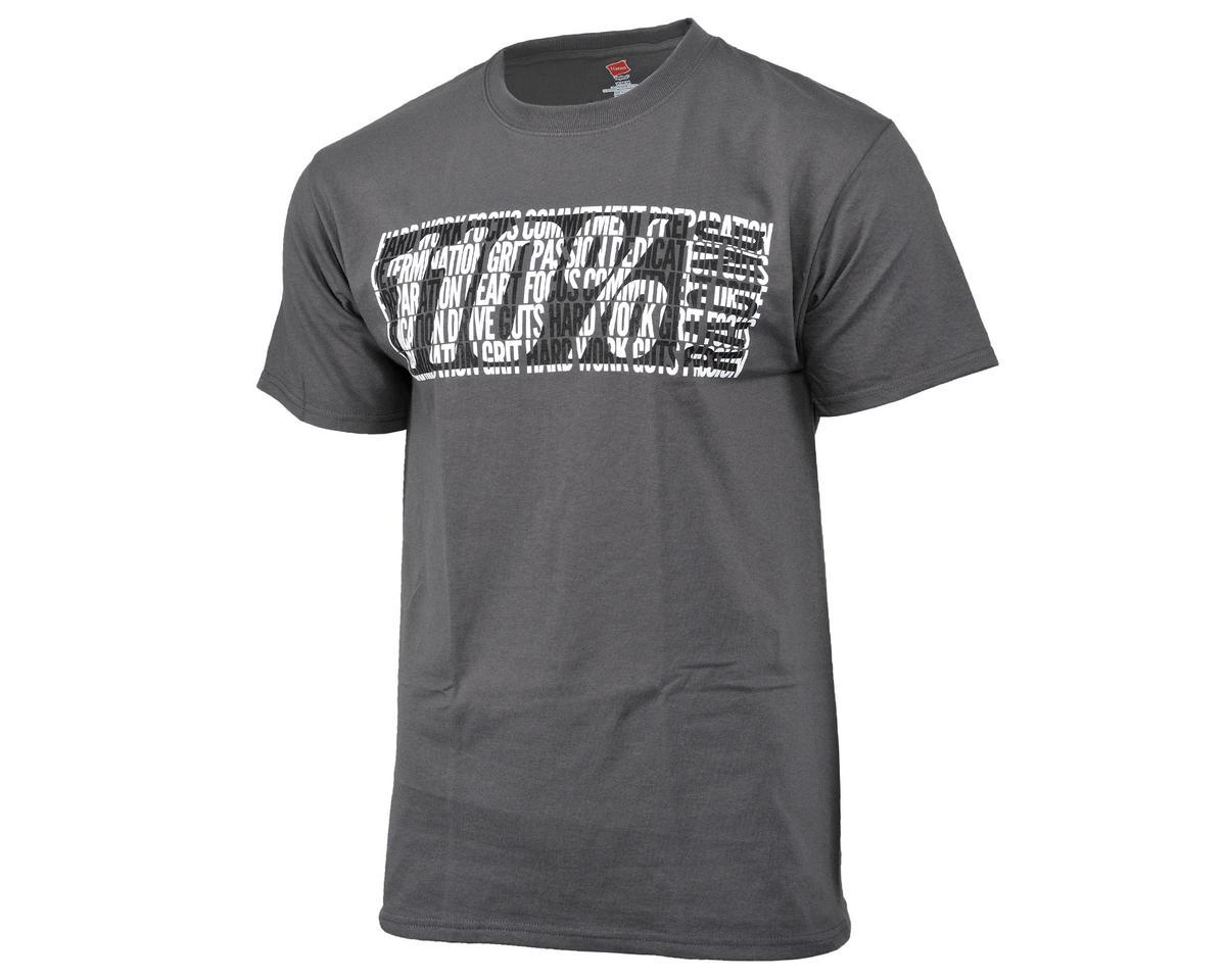 110% Racing Dark Grey Character T-Shirt (S)