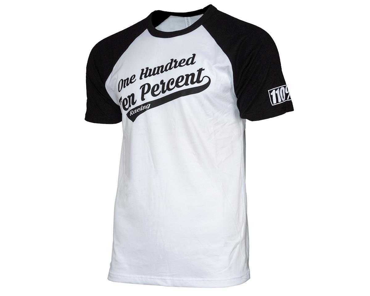 110% Racing Baseball Tee Jersey Style T-Shirt (XL)