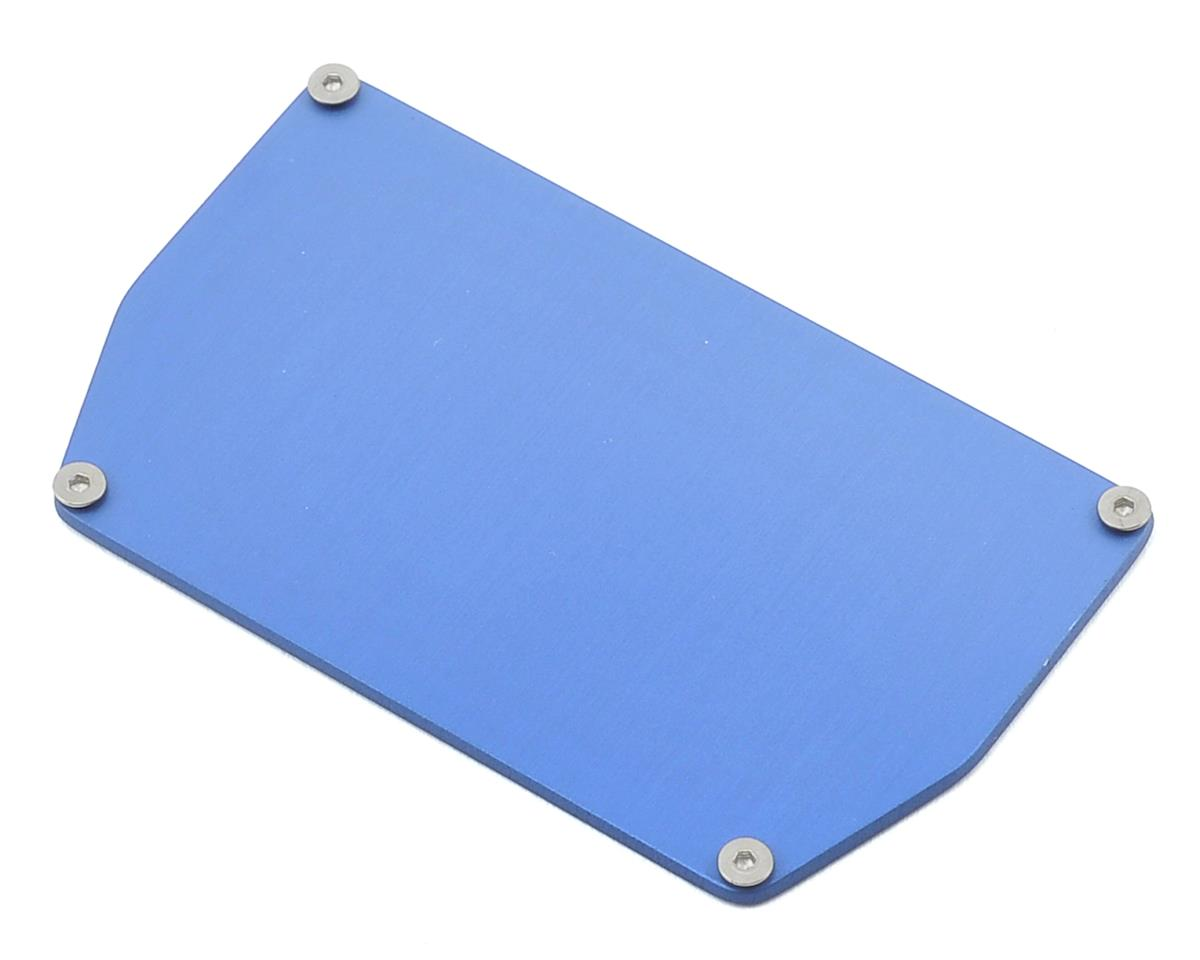 175RC B6/B6D Aluminum Chassis Weight (13g) (Blue)