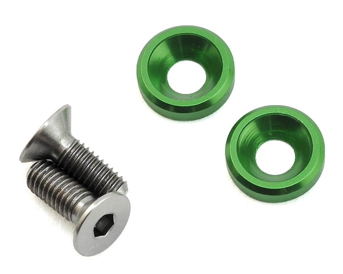 175RC 3x8mm Titanium Motor Screws (Green)