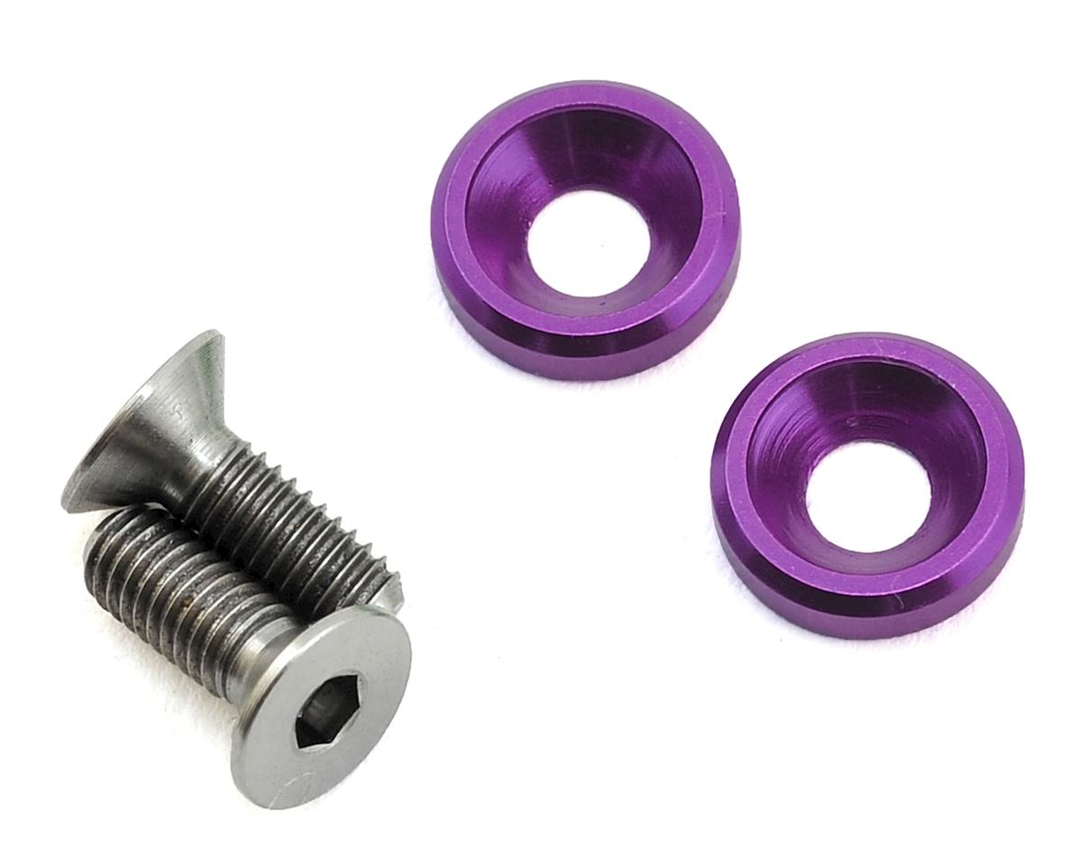175RC 3x8mm Titanium Motor Screws (Purple)