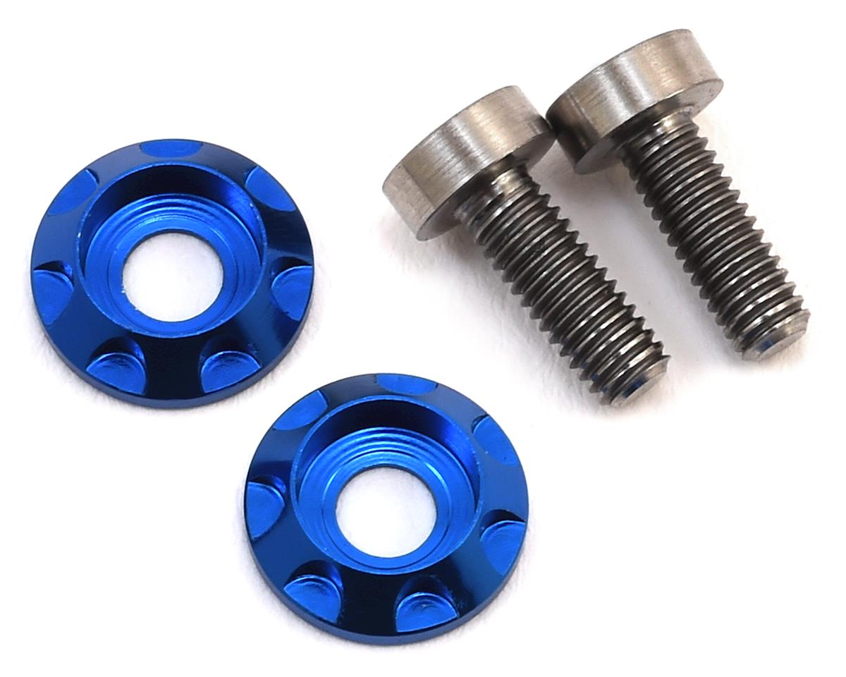 "175RC 3x8mm Titanium ""High Load"" Motor Screws (Blue)"