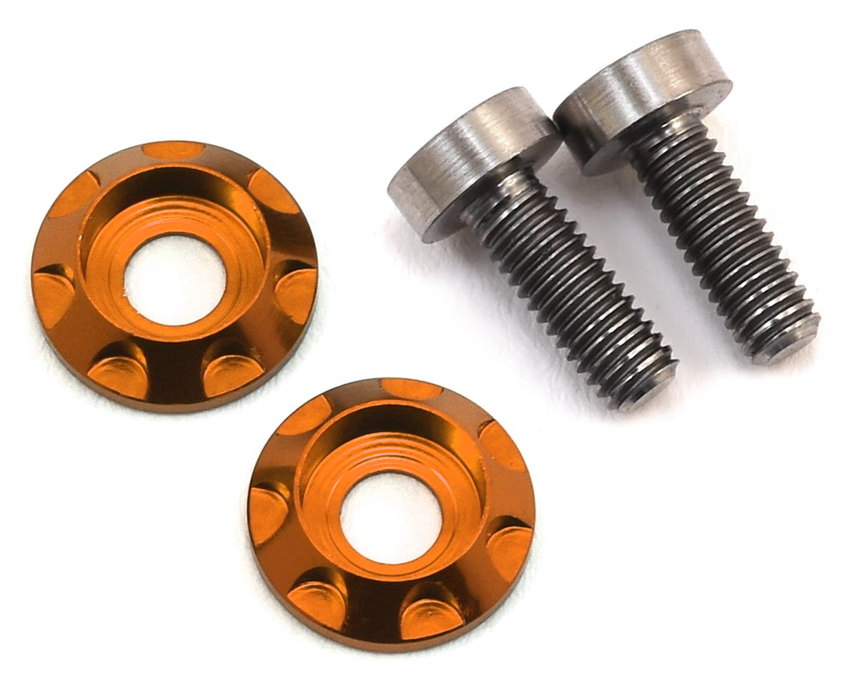 "175RC 3x8mm Titanium ""High Load"" Motor Screws (Orange)"