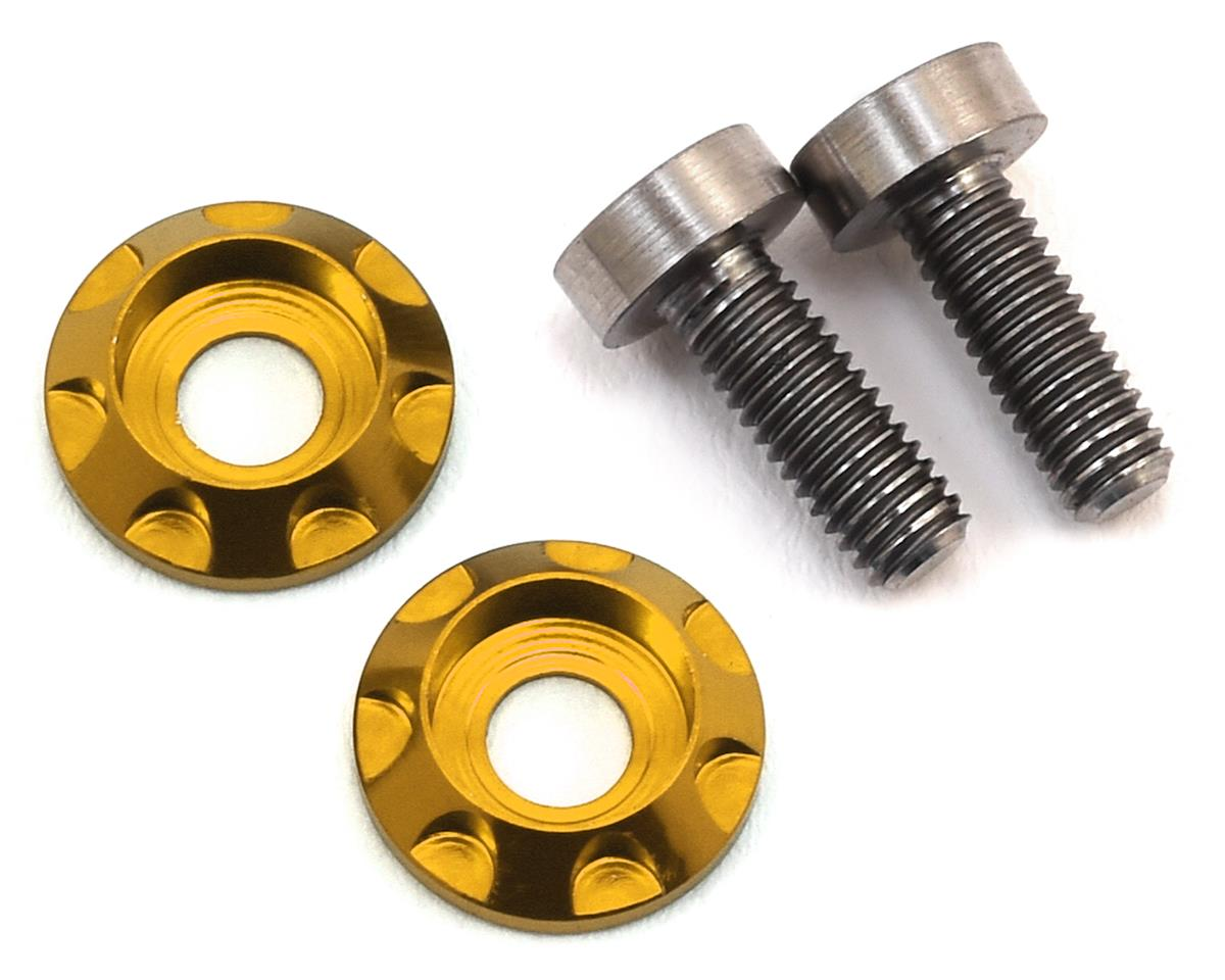 "175RC 3x8mm Titanium ""High Load"" Motor Screws (Gold)"