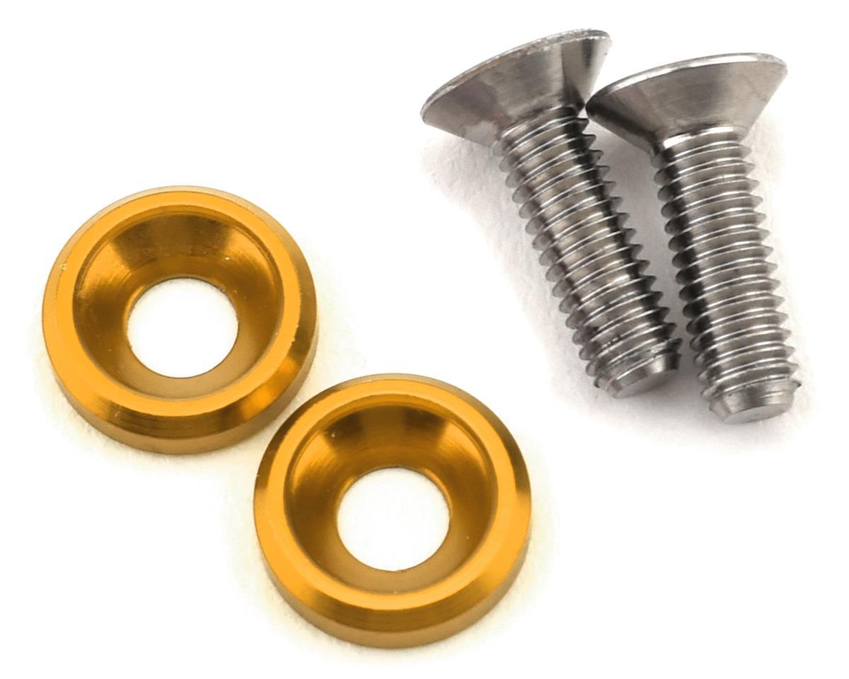 175RC 3x10mm Titanium Motor Screws (Gold)