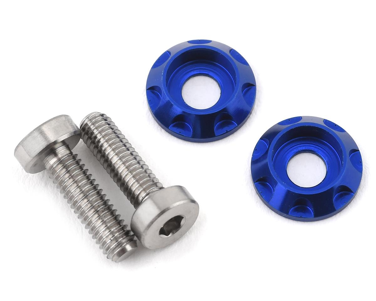 "175RC 3x10mm ""High Load"" Titanium Motor Screws (Blue)"