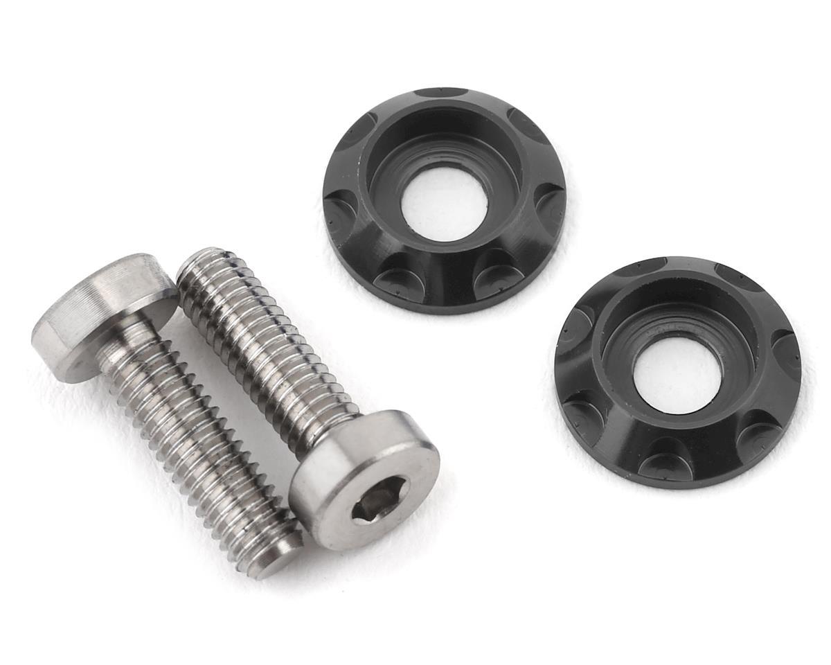 "175RC 3x10mm ""High Load"" Titanium Motor Screws (Grey)"