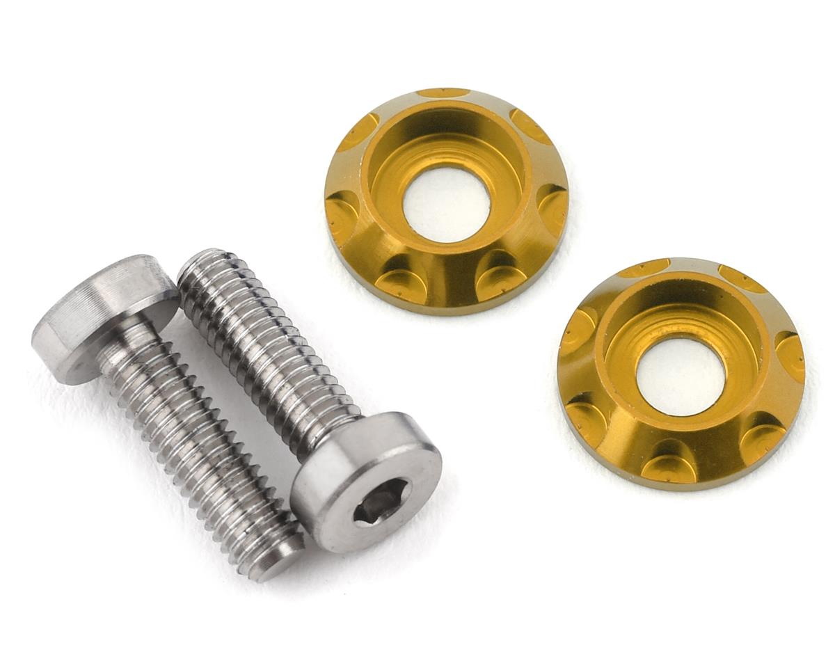 "175RC 3x10mm ""High Load"" Titanium Motor Screws (Gold)"
