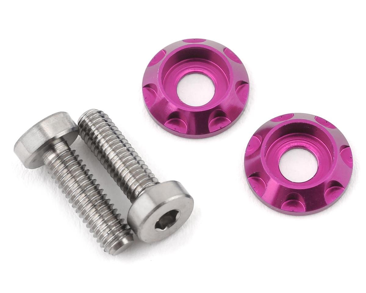 "175RC 3x10mm ""High Load"" Titanium Motor Screws (Pink)"