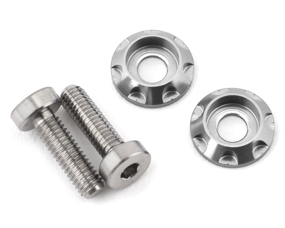 "175RC 3x10mm ""High Load"" Titanium Motor Screws (Silver)"