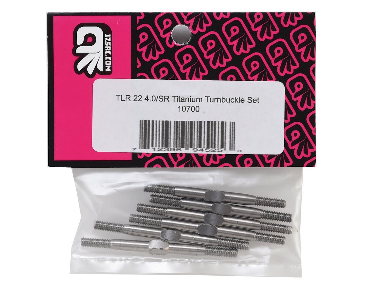 175RC TLR 22 4.0 Titanium Turnbuckle Set