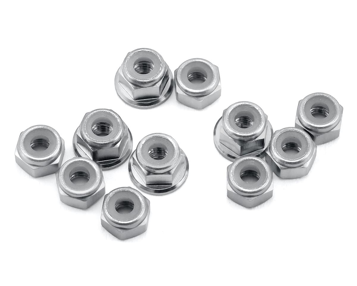 175RC B6.1/B6.1D Aluminum Nut Kit (Silver) (11)