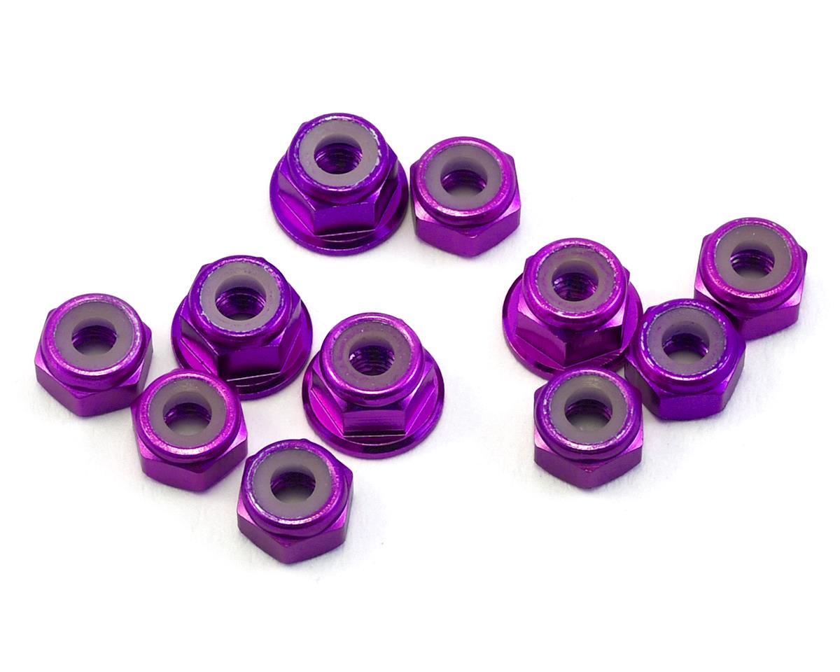175RC B6.1/B6.1D Aluminum Nut Kit (Purple) (11)