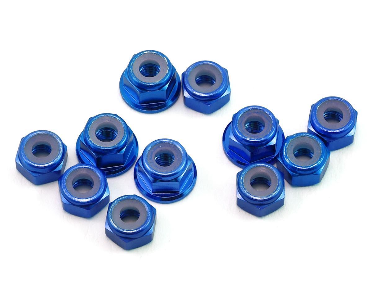 175RC B6.1/B6.1D Aluminum Nut Kit (11) (Blue)