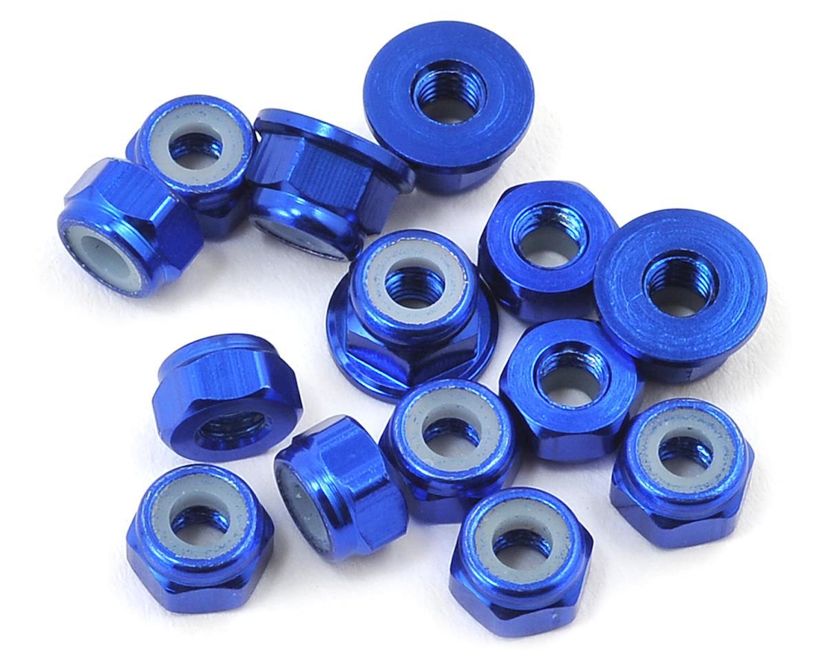 175RC B64/B64D Aluminum Nut Kit (14) (Blue)