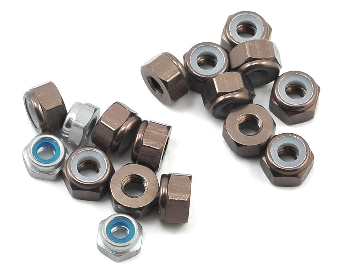 175RC TLR 22 3.0 Aluminum Nut kit (17) (Grey)
