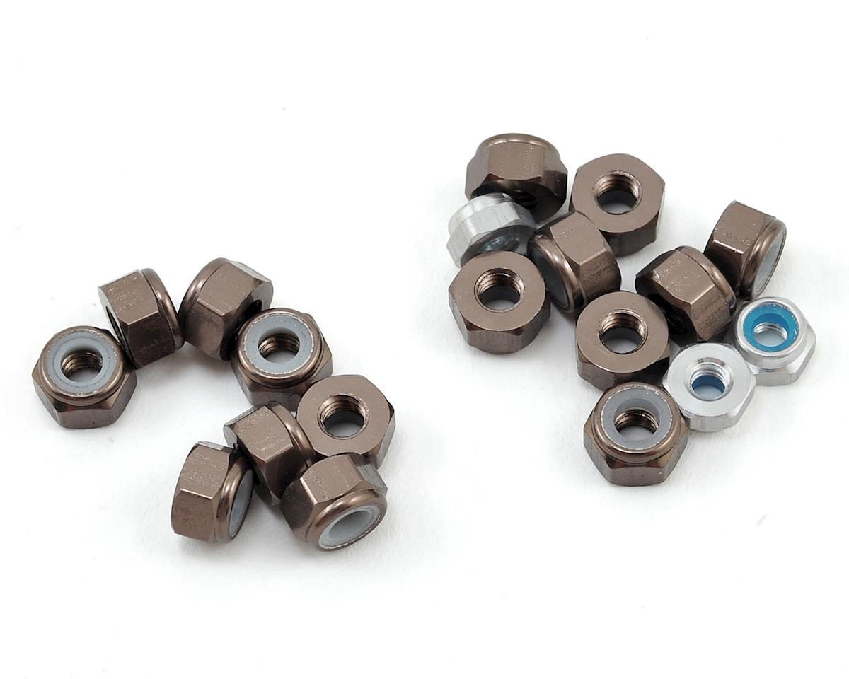 175RC Aluminum TLR 22SCT 3.0 Nut Kit (19)
