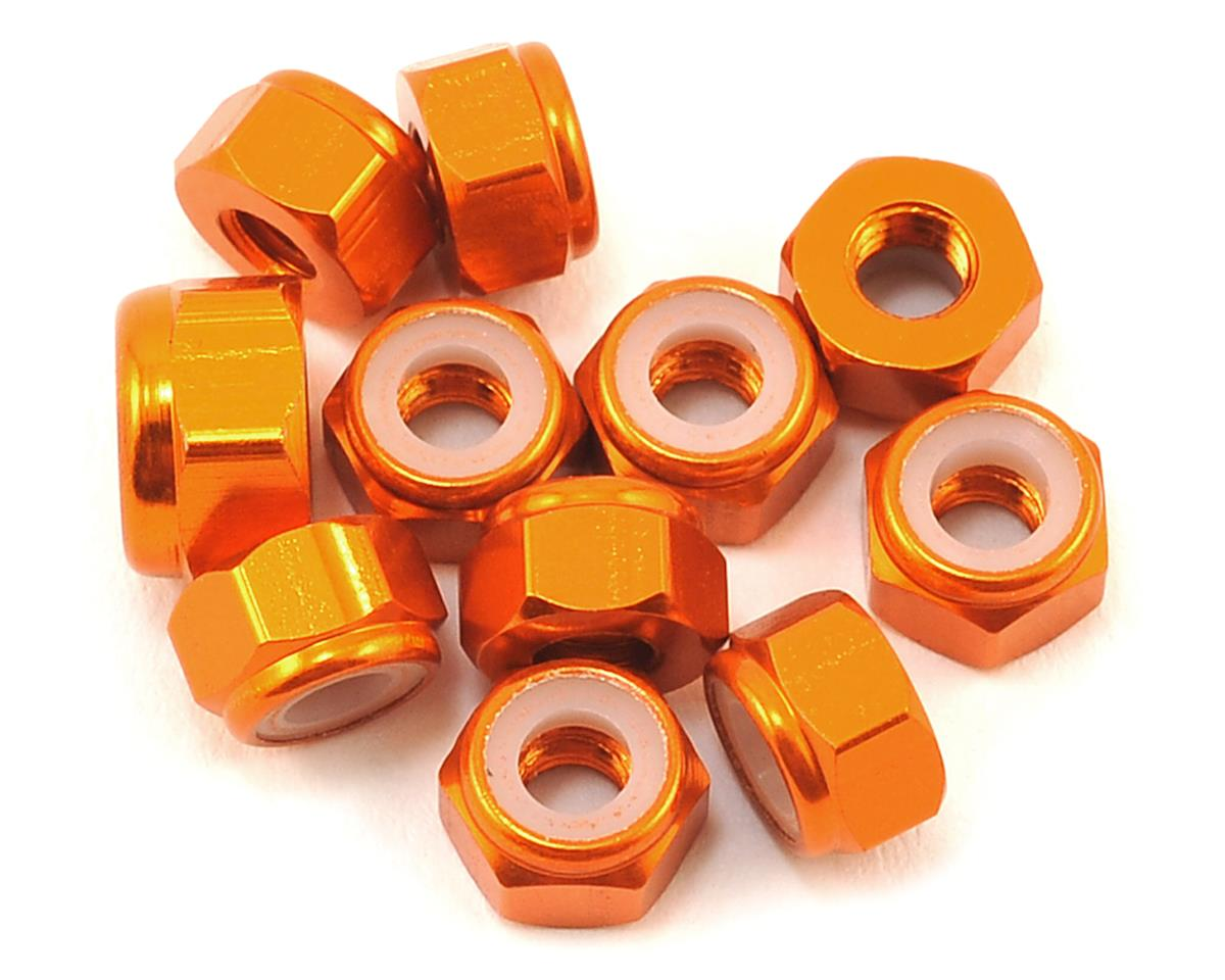 175RC XRAY XB2 Dirt Aluminum Nut Kit (11) (Orange)