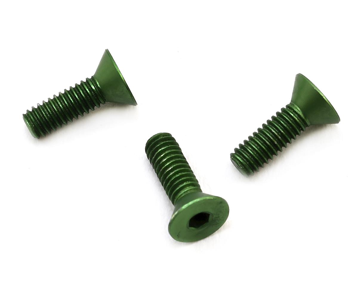 175RC Reedy S-Plus/540-M3 Aluminum Motor Timing Clamp Screws (Green) (3)