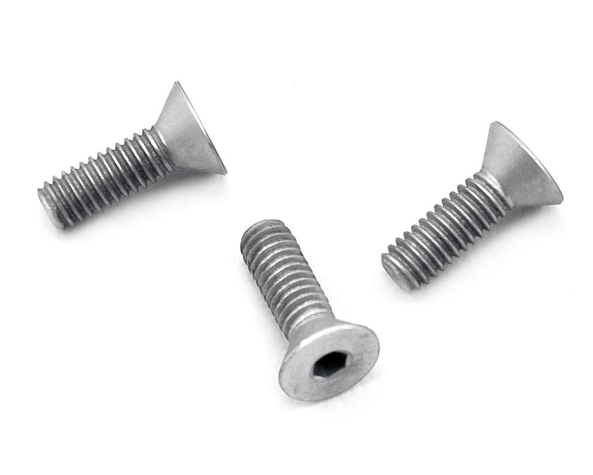Reedy S-Plus/540-M3 Aluminum Motor Timing Clamp Screws (Silver) (3) by 175RC