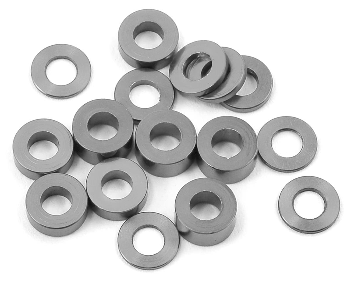 175RC M3 Ball Stud Washers (16) (Grey)