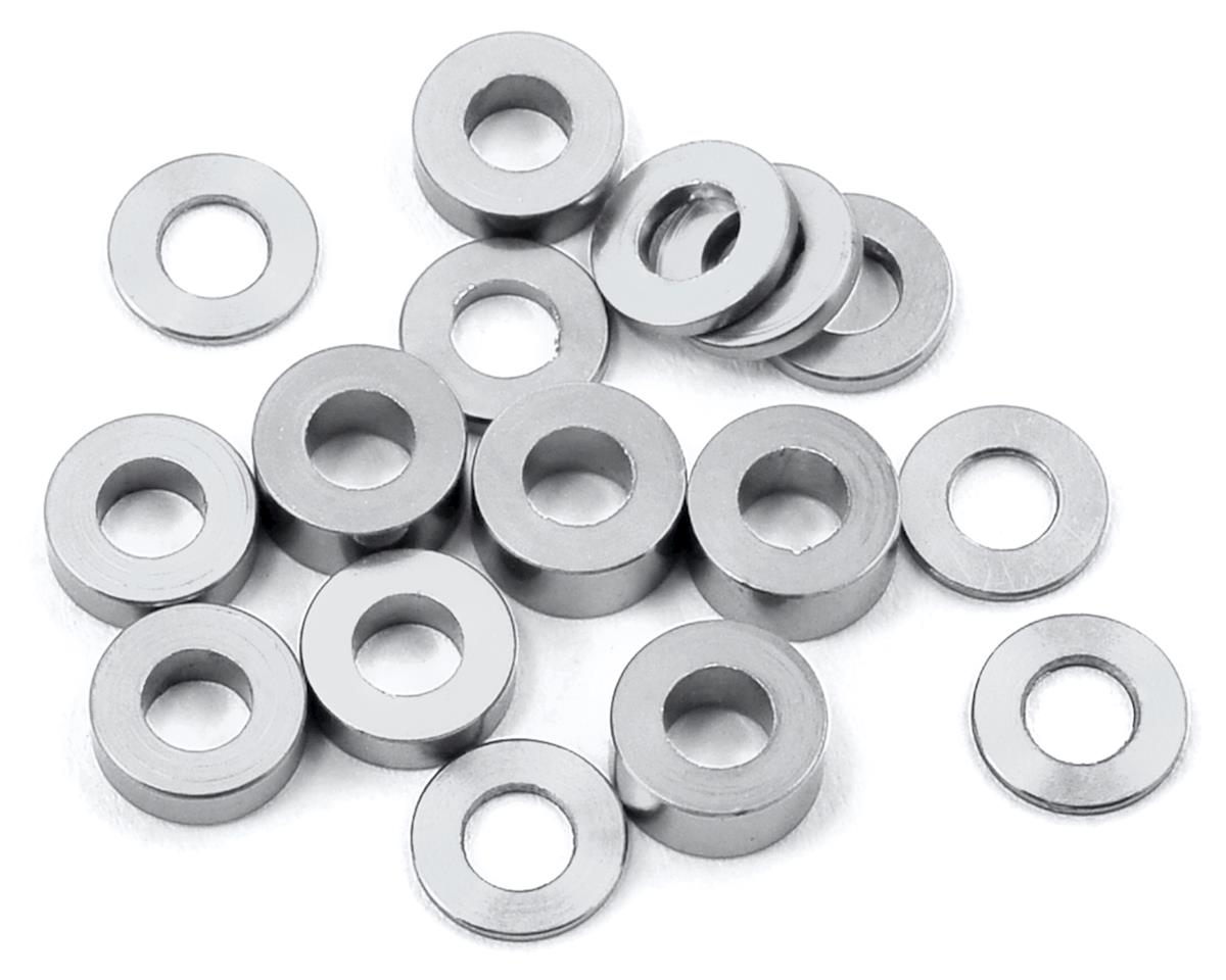 175RC M3 Ball Stud Washers (16) (Silver) (Kyosho Ultima RB6.6)