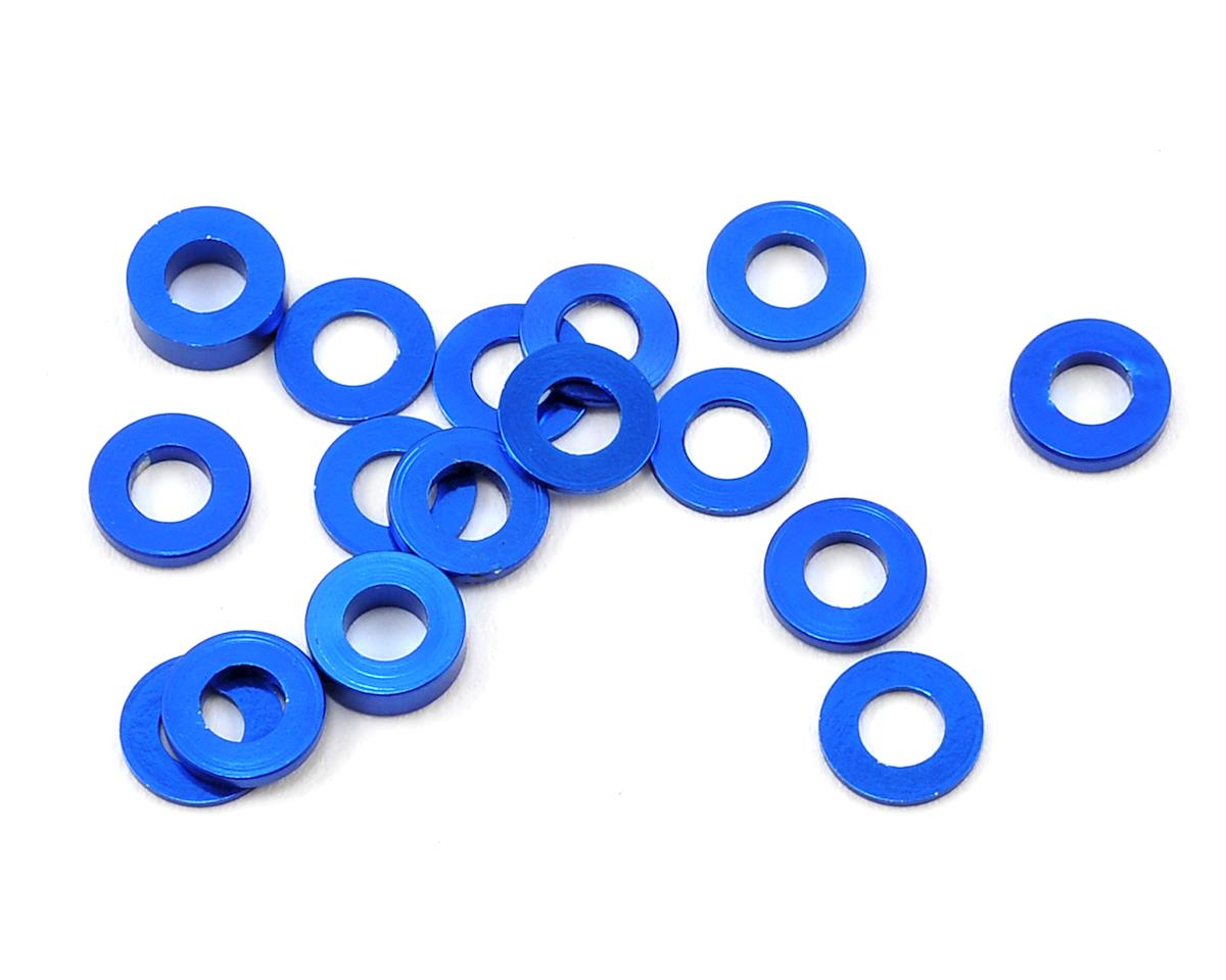 175RC Aluminum B6/B64/YZ2 Machined Hub Spacers (Blue) (16)