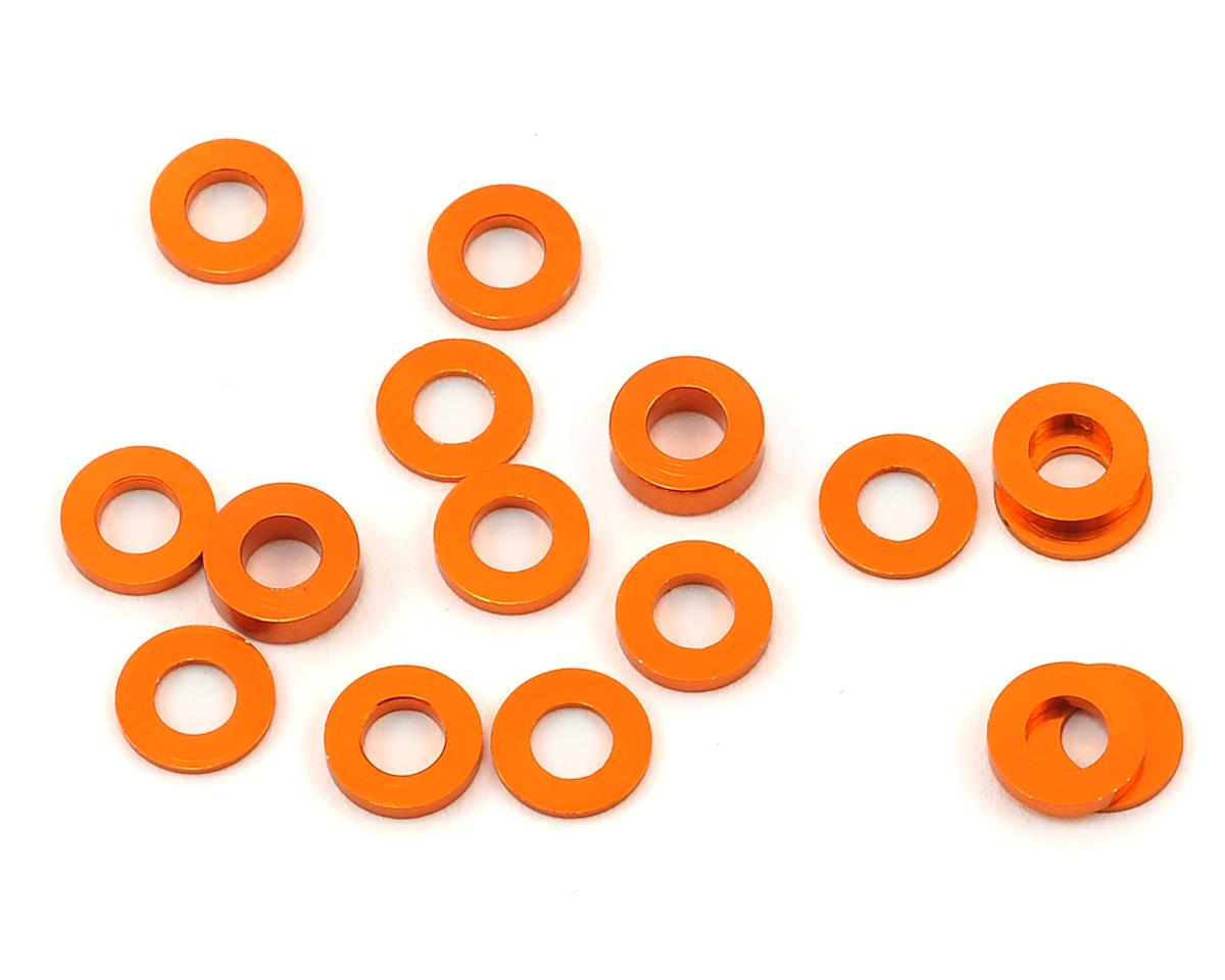 175RC XRAY XB2/XT2 Machined Hub Spacers (Orange) (16)