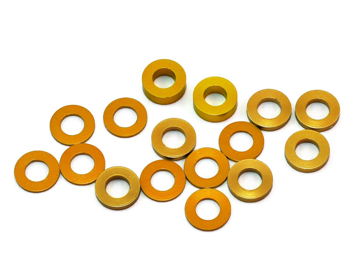 175RC B6/B64/YZ2 Aluminum Hub Spacer Set (Gold)
