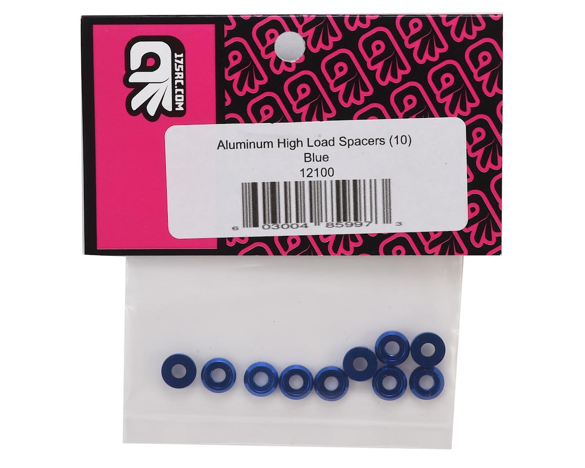 175RC Aluminum Button Head Screw High Load Spacer (Blue) (10)