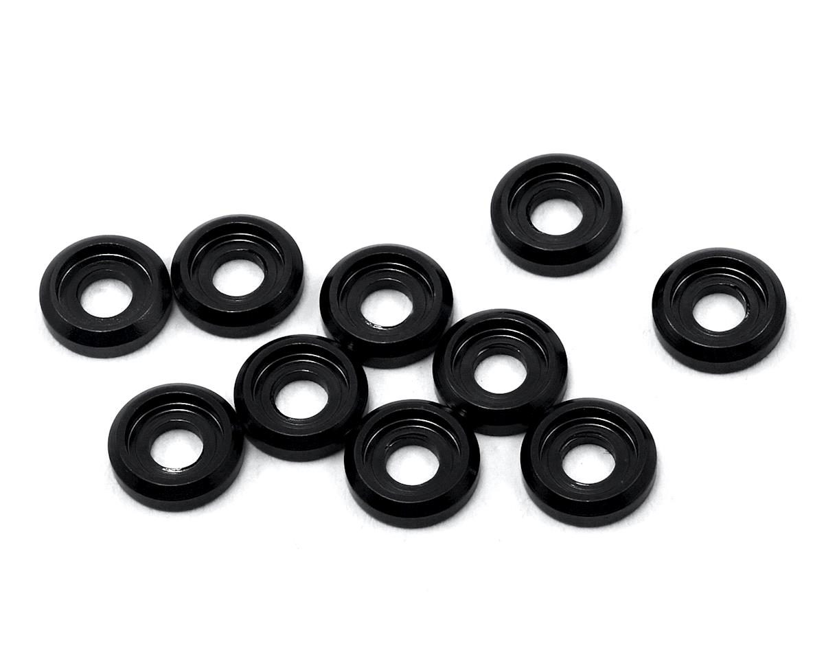 175RC Aluminum Button Head Screw High Load Spacer (Black) (10)