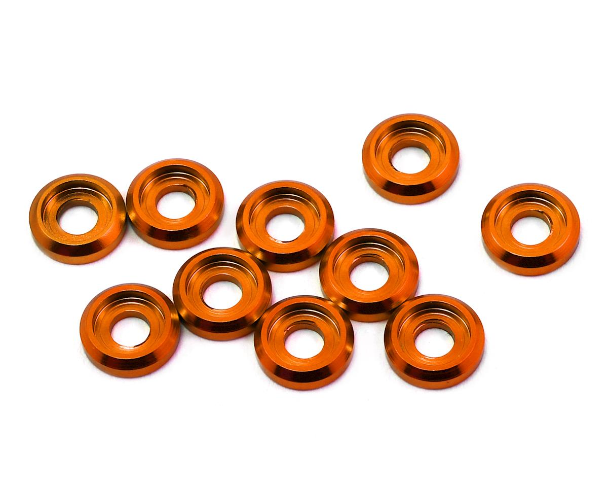 175RC Aluminum Button Head Screw High Load Spacer (Orange) (10)
