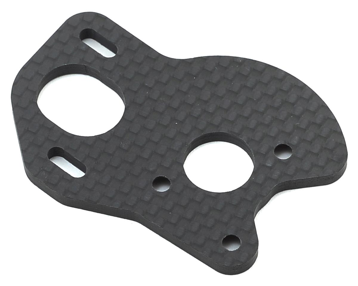 B6/B6D Carbon Motor Plate w/Gear Guard by 175RC