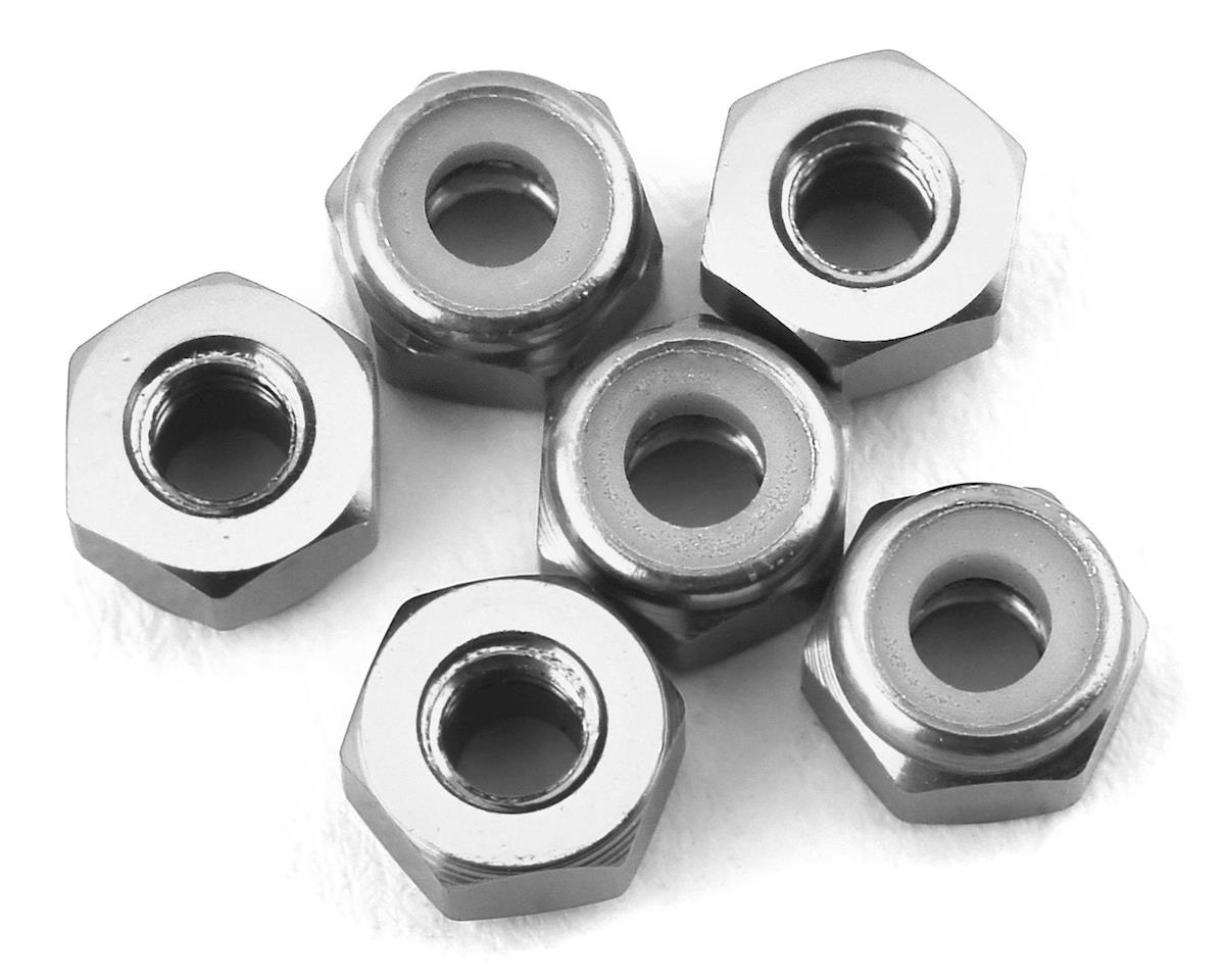 175RC Lightweight Aluminum M3 Lock Nuts (Silver) (6)