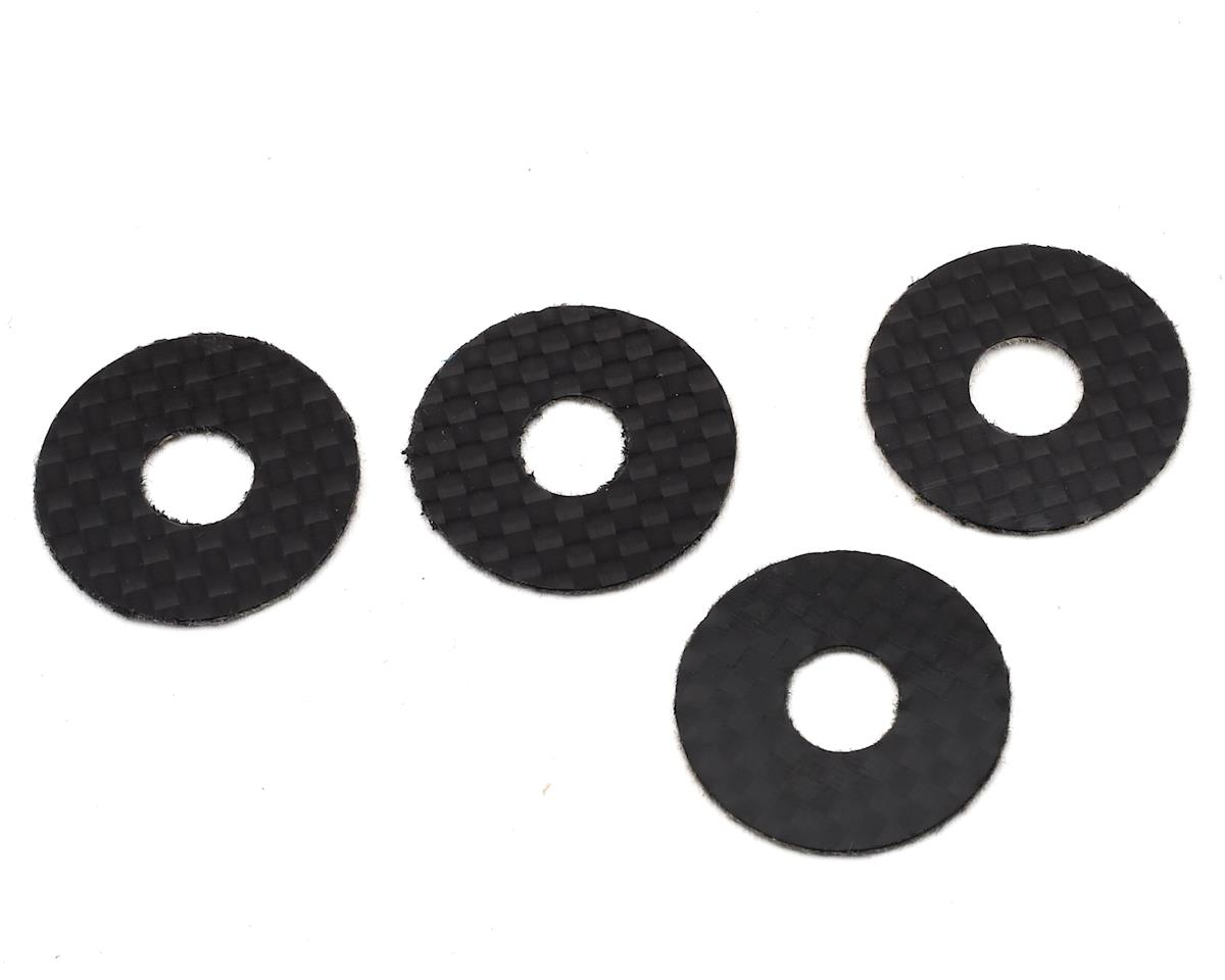 1UP Racing Carbon Fiber 1/8 On-Road Body Washers (4)
