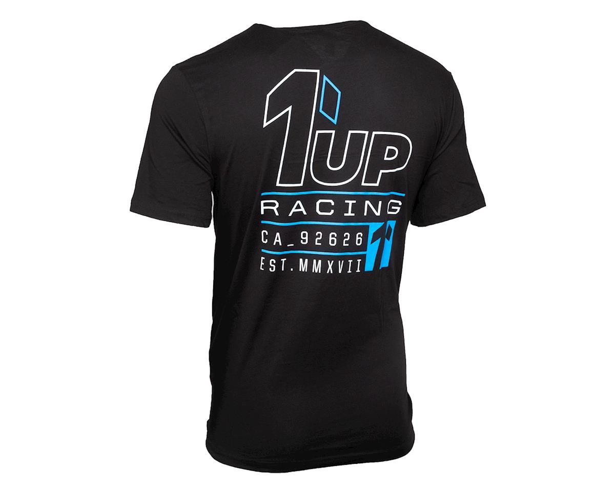 1UP Racing Racing Established Black T-Shirt (M)