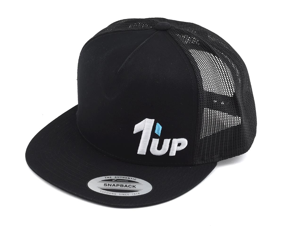 1UP Racing Black Snapback Hat (One Size Fits Most)