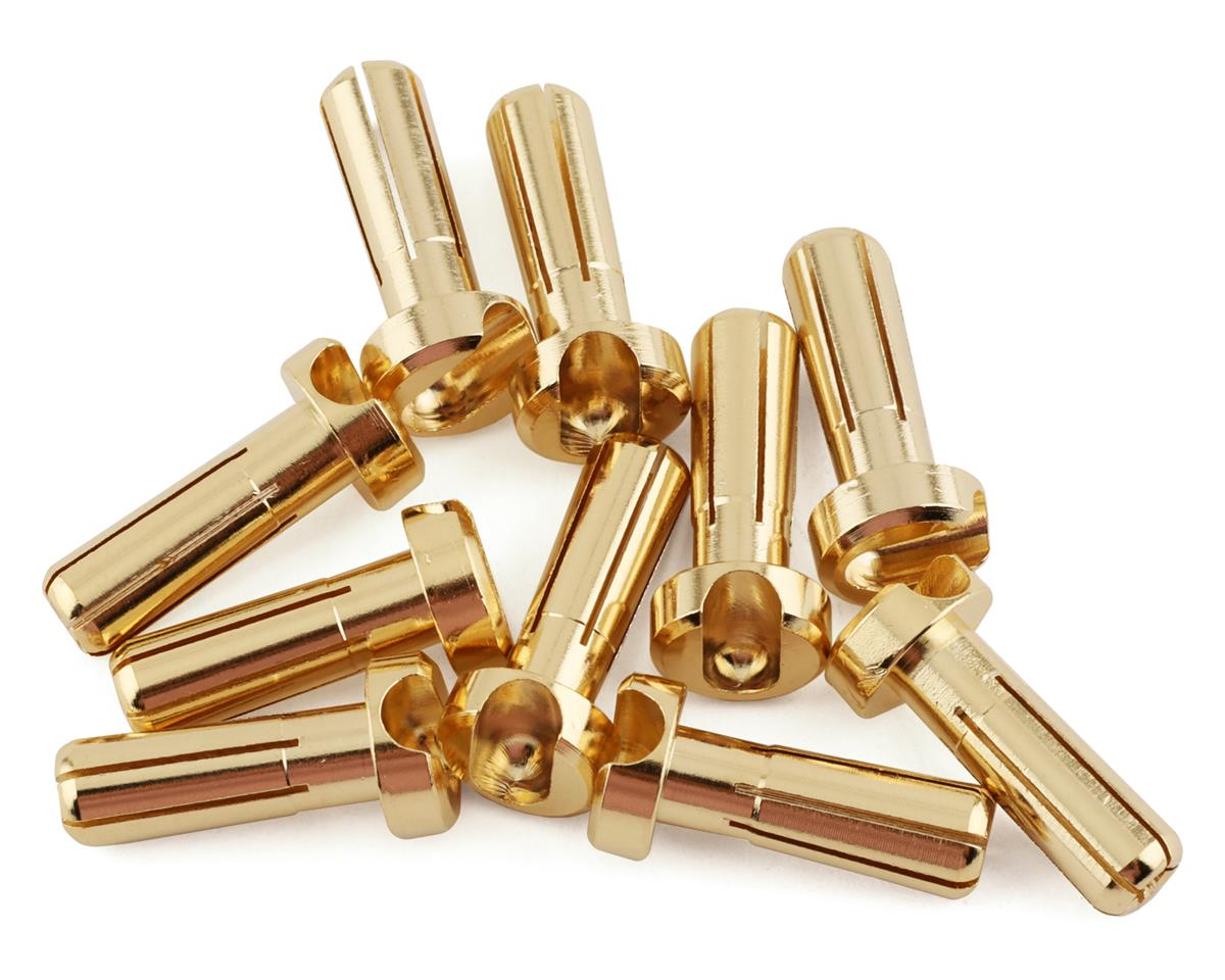1UP Racing 5mm LowPro Bullet Plugs (10)