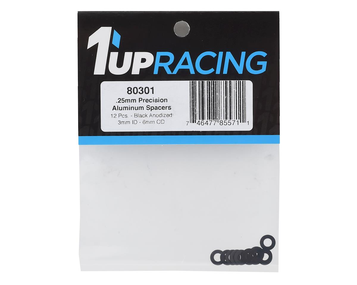 Image 2 for 1UP Racing Precision Aluminum Shims (Black) (12) (25mm)